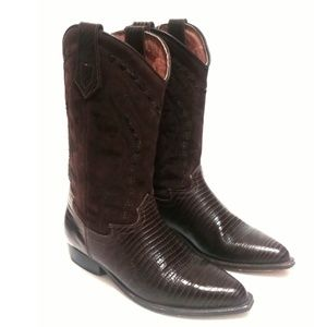 Seychelles Leather Cowboy Boots